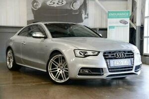 2012 Audi S5 8T MY13 S Tronic Quattro Silver 7 Speed Sports Automatic Dual Clutch Coupe