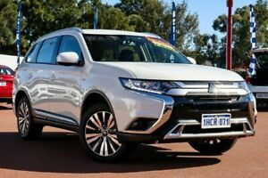 2019 Mitsubishi Outlander ZL MY19 ES AWD White 6 Speed Constant Variable Wagon Rockingham Rockingham Area Preview