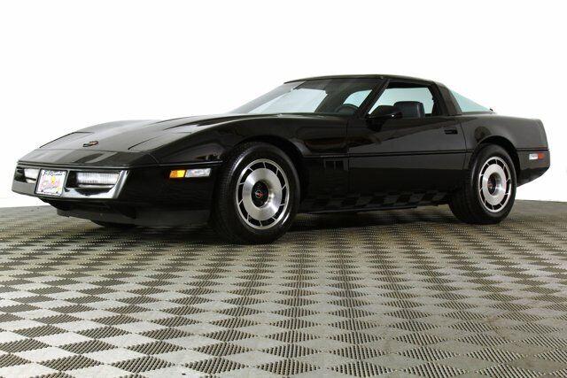 1984 Black Chevrolet Corvette   | C4 Corvette Photo 3