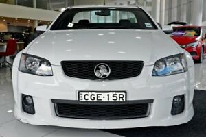 2012 Holden Ute VE II SV6 Thunder White 6 Speed Sports Automatic Utility