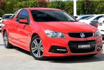 2013 Holden Ute VE II MY12.5 SS Z Series Red 6 Speed Sports Automatic Utility