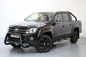 2012 Volkswagen Amarok 2H MY12.5 TDI420 4Motion Perm Ultimate Black 8 Speed Automatic Utility Port Melbourne Port Phillip Preview