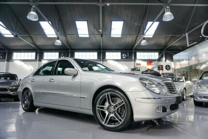 2004 Mercedes-Benz E500 211 Elegance Silver 5 Speed Auto Touchshift Sedan Port Melbourne Port Phillip Preview