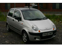 Daewoo Matiz 0.8 (Cheap car with low mileage)