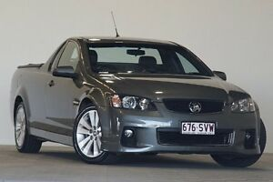 2012 Holden Commodore VE II MY12.5 SV6 Z-Series Silver 6 Speed Manual Utility Coopers Plains Brisbane South West Preview