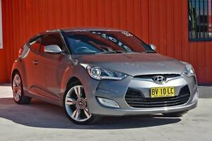2013 Hyundai Veloster FS3 Street Coupe D-CT Grey 6 Speed Sports Automatic Dual Clutch Hatchback Molendinar Gold Coast City Preview