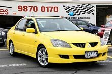 2004 Mitsubishi Lancer CH VR-X Yellow 4 Speed Auto Sports Mode Sedan Ringwood East Maroondah Area Preview