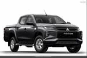 2019 Mitsubishi Triton MR MY19 GLX+ Double Cab Grey 6 Speed Sports Automatic Utility Ocean Vista Burnie Area Preview