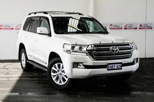 2018 Toyota Landcruiser VDJ200R VX Crystal Pearl 6 Speed Sports Automatic Wagon Myaree Melville Area Preview
