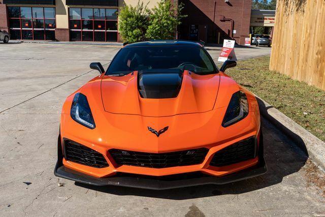 2019 Orange Chevrolet Corvette ZR1  | C7 Corvette Photo 3