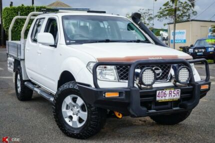 2011 Nissan Navara D40 MY11 ST White 5 Speed Automatic Utility Archerfield Brisbane South West Preview