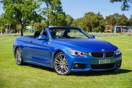 2014 BMW 428i F33 M Sport Blue 8 Speed Sports Automatic Convertible