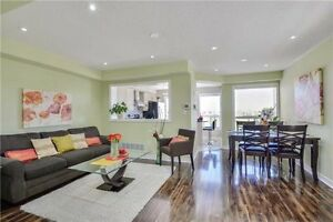 Stunning 3 B/R, 3 W/R Free Hold Condo T/House at Hwy 10/Bovaird