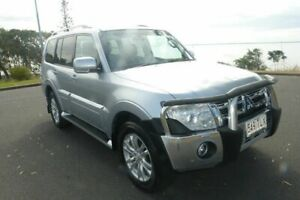 2013 Mitsubishi Pajero NW MY14 VR-X Silver 5 Speed Sports Automatic Wagon South Gladstone Gladstone City Preview