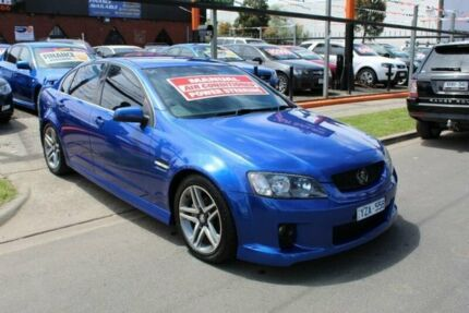 2006 Holden Commodore VE SV6 Blue 6 Speed Manual Sedan West Footscray Maribyrnong Area Preview