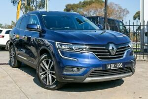2016 Renault Koleos HZG Intens X-tronic Blue 1 Speed Constant Variable Wagon Bentleigh East Glen Eira Area Preview