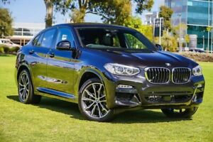 2018 BMW X4 G02 xDrive20d Coupe Steptronic M Sport X Black/cloth/leather 8 Speed Automatic Wagon Burswood Victoria Park Area Preview