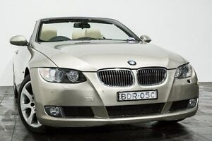 2007 BMW 325I E93 Steptronic Bronze 6 Speed Sports Automatic Convertible Rozelle Leichhardt Area Preview