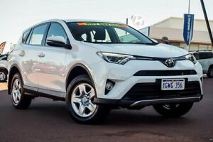 2018 Toyota RAV4 ASA44R GX AWD Glacier White 6 Speed Sports Automatic Wagon