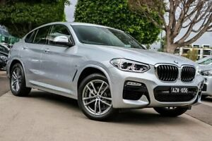 2019 BMW X4 G02 xDrive20i M Sport Silver Automatic South Melbourne Port Phillip Preview
