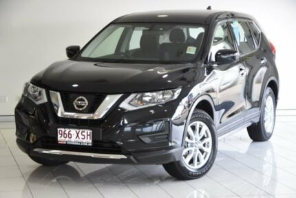 2017 Nissan X-Trail T32 Series II ST X-tronic 4WD Black 7 Speed Constant Variable Wagon
