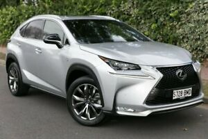 2016 Lexus NX AGZ15R NX200t AWD F Sport Silver 6 Speed Sports Automatic Wagon Parkside Unley Area Preview