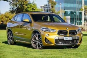 2018 BMW X2 F39 xDrive20d Coupe Steptronic AWD M Sport X Galvanic Gold 8 Speed Sports Automatic Burswood Victoria Park Area Preview