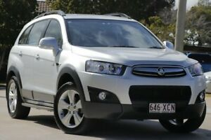 2012 Holden Captiva CG Series II 7 AWD CX Silver 6 Speed Sports Automatic Wagon East Toowoomba Toowoomba City Preview