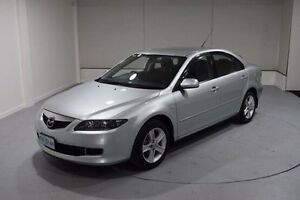 2005 Mazda 6 GG1031 MY04 Classic Silver 5 Speed Manual Hatchback Invermay Launceston Area Preview