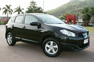 2010 Nissan Dualis J10 MY2009 ST Hatch Black 6 Speed Manual Hatchback Townsville Townsville City Preview