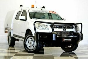 2016 Holden Colorado RG MY17 LS (4x4) White 6 Speed Automatic Crew Cab Pickup Burleigh Heads Gold Coast South Preview