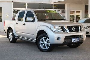 2013 Nissan Navara D40 S6 MY12 ST Silver 6 Speed Manual Utility Osborne Park Stirling Area Preview