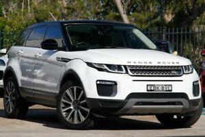2016 Land Rover Range Rover Evoque L538 MY17 TD4 180 SE White 9 Speed Sports Automatic Wagon Gateshead Lake Macquarie Area Preview