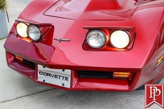 1981 Red Chevrolet Corvette Coupe  | C3 Corvette Photo 3