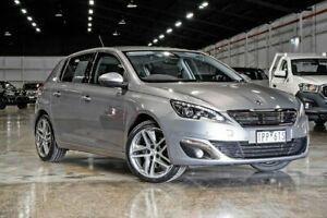 2014 Peugeot 308 T9 Allure Grey 6 Speed Sports Automatic Hatchback Wendouree Ballarat City Preview