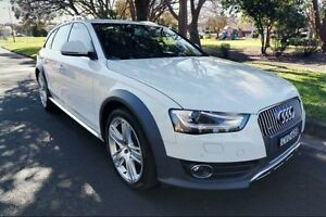 2014 Audi A4 B8 8K MY15 allroad S tronic quattro White 7 Speed Sports Automatic Dual Clutch Wagon Haymarket Inner Sydney Preview