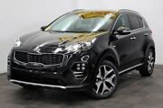 2016 Kia Sportage QL MY17 GT-Line AWD Black 6 Speed Sports Automatic Wagon Seven Hills Blacktown Area Preview