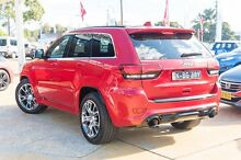2014 Jeep Grand Cherokee WK MY2014 SRT Red 8 Speed Sports Automatic Wagon Greenacre Bankstown Area Preview