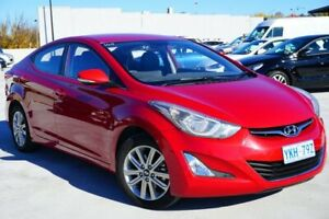 2014 Hyundai Elantra MD3 SE Red 6 Speed Sports Automatic Sedan Pearce Woden Valley Preview