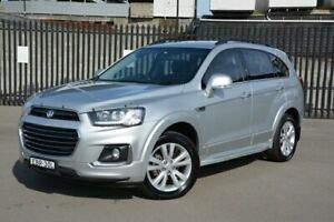 2016 Holden Captiva CG MY16 LT AWD Silver 6 Speed Sports Automatic Wagon New Lambton Newcastle Area Preview