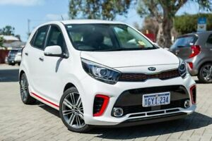2019 Kia Picanto JA GT-Line White Automatic Morley Bayswater Area Preview