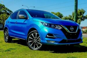 2019 Nissan Qashqai J11 Series 3 MY20 N-SPORT X-tronic Vivid Blue 1 Speed Constant Variable Wagon Tweed Heads Tweed Heads Area Preview
