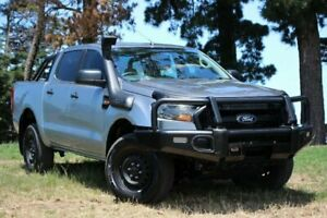 2016 Ford Ranger PX MkII XL Silver 6 Speed Manual Utility Officer Cardinia Area Preview