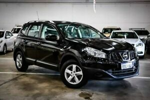 2012 Nissan Dualis J107 Series 3 MY12 +2 Hatch X-tronic 2WD ST Black 6 Speed Constant Variable