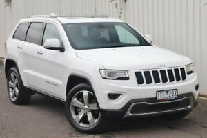 2015 Jeep Grand Cherokee WK MY15 Limited White 8 Speed Sports Automatic Wagon Watsonia Banyule Area Preview