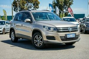2014 Volkswagen Tiguan 5N MY14 118TSI DSG 2WD Beige 6 Speed Sports Automatic Dual Clutch Wagon