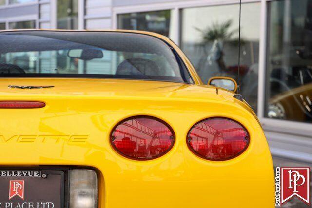 2002 Yellow Chevrolet Corvette Z06  | C5 Corvette Photo 6