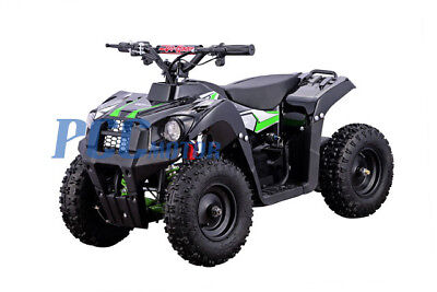 Free Shipping 500W 36V Electric Battery Kids Boys Ride On Quads GREEN ATV
