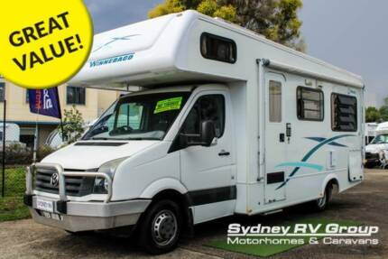 U3773 Winnebago Ceduna Well Equipped 6 Berth With Electric Bed Penrith Penrith Area Preview