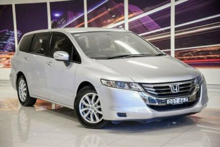 2013 Honda Odyssey 4th Gen MY13 Silver 5 Speed Sports Automatic Wagon Blacktown Blacktown Area Preview